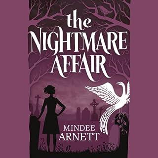 The Nightmare Affair audiobook cover art