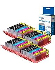 ECSC Kompatibel bläck Patron Ersättning för Canon Pixma iP7200 iP7250 iP8700 iP8750 iX6850 MG5450 MG5450S MG5550 MG5600 MG5650 MG6350 MG6450 MG6600 MG6650 MG7150 MG7500 MG7550 MX725 MX920 (20-Packa)