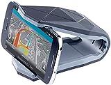 PEARL Handy Halterung Klammer: Universelle Kfz-Smartphone-Halterung mit Klammer, bis 15,2 cm (6') (Handyhalterung Auto zum Schrauben)
