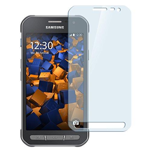 mumbi Hart Glas Folie kompatibel mit Samsung Galaxy Xcover 3 Panzerfolie, Schutzfolie Schutzglas (1x)