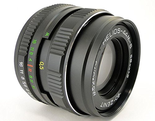 !!New!! HELIOS 44m-6 2/58 Russian USSR Lens M42 Screw Mount Canon EOS EF Mount 100 70 80 6 D 7D 5D Mark II III