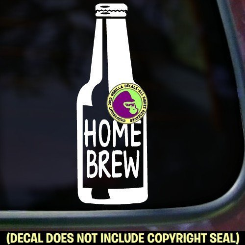 HOME BREW Vinyl Decal Sticker A
