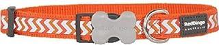 طوق عاكس للكلاب من ريد دينجو، المقاس: صغير، اللون: برتقالي