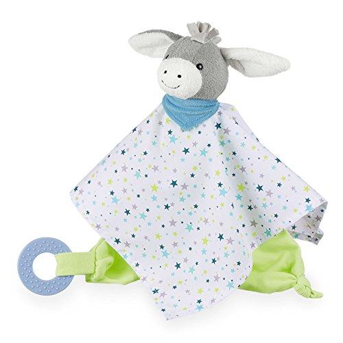 Sterntaler Kuscheltuch Erik, Alter: Für Babys ab dem 1. Monat, Größe: 32 cm, Farbe: Bunt