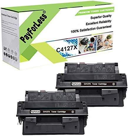 PayForLess 2PK for HP 27X C4127X Toner for HP Laserjet 4000 4000N 4000SE 4000T 4050 4050N 4050TN product image