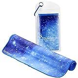 Syourself Toalla refrescante para alivio instantáneo, toalla refrescante para yoga y fitness, 100 x...