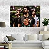 QAQTAT Kości przestępczość sąsiedztwa serial telewizyjny płótno plakat HD nadruk obrazy sztuka ścienna obraz bar mural dekoracja domu 40 * 60 cm (bez ramy)