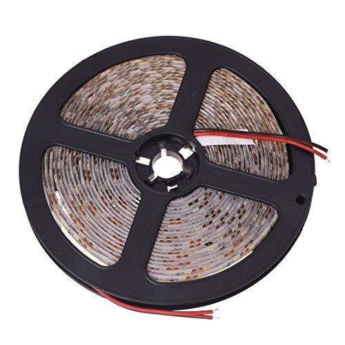 Senmubery Luz Tira Iluminacion 600 LED 3528 SMD Impermeable Blanco 5m Controlador