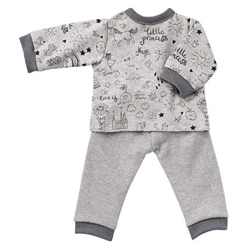 Unbekannt Puppenkleidung Puppen Pyjama Schlafanzug für 36 - 40 cm Puppen Schwenk 47038