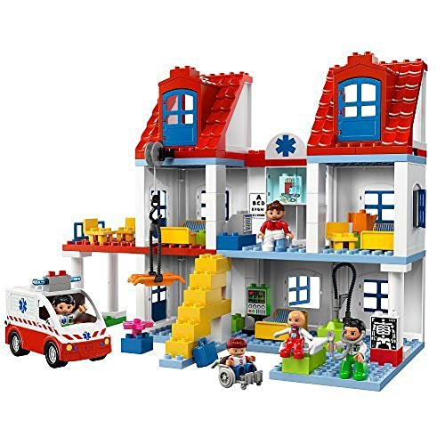 LEGO Duplo Set #5795 Big City Hospital (japan import)