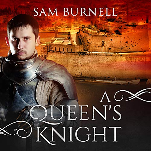 A Queen's Knight: A Medieval Military Historical Fiction Novel cover art