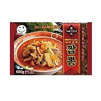 《冷凍》ワンソバン 北京 チャンポン麺 680g 韓国本場の味/韓国大人気麺/韓国食品/韓国麺/韓流/キムチ/韓国食材/安い/韓国式中華/冷凍/チャンポン/韓国料理