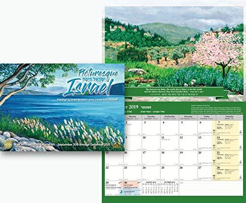 Hebreeuws Schilderij Israël 16 Maand Bijbelse Kalender September 2019 Tot December 2020.