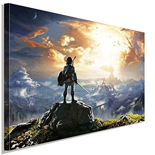The Legend of Zelda 2 Leinwandbild LaraArt Studio Wanddeko Wandbild 100 x 70 cm