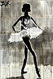 Poster 20 x 30 cm: Anastasia, die Tänzerin von Loui Jover
