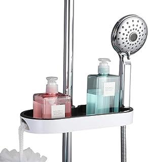 Étagère d'angle Douche Douche étagères sans Drilling douche panier douche Organisateur de rangement Salle de bain Etagère ...