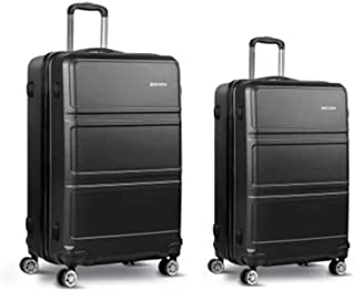 Luggage Set | Wanderlite 2 Pieces Hardshell Spinner Suitcase TSA Lock Trolley Lightweight Suitcase Organizer Sets with Sca...
