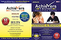 Achievers 9 Bands 4 in One Complete Academic Exam Training combo Pack of Speaking and Writing,10 Readings and 6 Listenings with Question Papers, Answer Keys, CD