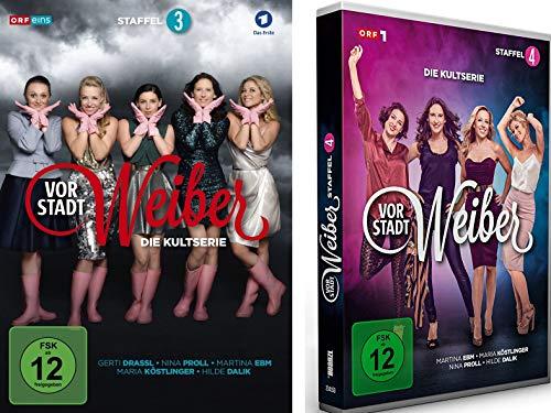 Vorstadtweiber - Staffel 3+4 im Set - Deutsche Originalware [6 DVDs]