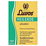 Luvos Heilerde ultrafein Pulver bei Sodbrennen, 750 g Pulver