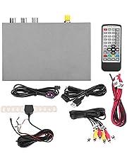 Qiilu Europa Tipo universal Decodificador de red ,Car HD DVB-T2 1080p Caja de receptor de TV digital Antena Soltero con interfaz HDMI