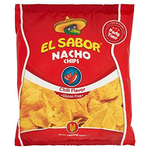 El Sabor Nachos Chips Chili - 225 gr