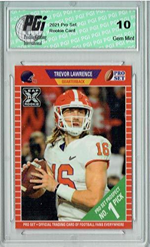 Trevor Lawrence 2021 Pro Set #PS1#1 Pick Rookie Card PGI 10