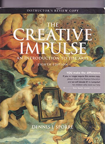 Price comparison product image The Creative Impulse,  8th Edition,  Instructor's Review Copy