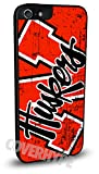 Nebraska Cornhuskers Cell Phone Hard Plastic Case for iPhone 6 Plus (5.5 inch)