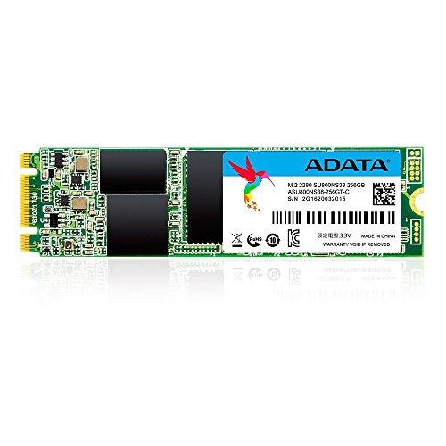 ADATA SU800 256GB M.2 2280 SATA 3D NAND Internal SSD (ASU800NS38-256GT-C) Massachusetts