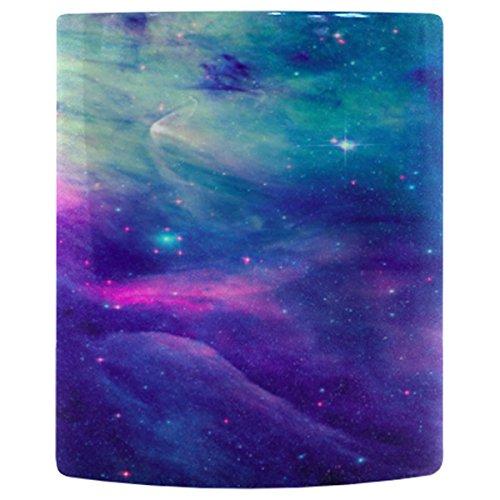 InterestPrint Galaxy Space Coffee Mug Cup Heat Sensitive Color Changing...