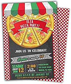 pizza express party invites