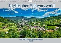 Idyllischer Schwarzwald (Wandkalender 2022 DIN A4 quer): Wunderschoene Berglandschaften und Natur pur, der Schwarzwald ist wunderschoen. (Monatskalender, 14 Seiten )