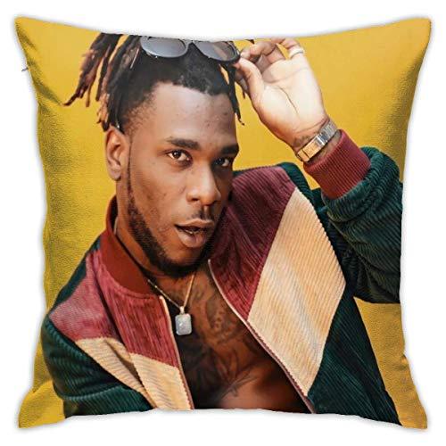 N \ A Burna Boy Federa per cuscino in poliestere motivo decorativo lavabile per divano arredamento casa 48 X 18