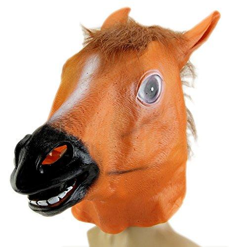 Xuniu grappige dierencosplay paardenhoofd masker kostuum gangnam stijl speelgoed Halloween Party
