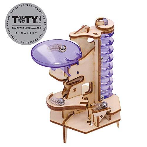 Marbleocity Triple Play Archimedes Screw Marble Machine Kit