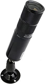 CCTV Camera Pros HD-BL8 1080p HD Bullet Security Camera | 4in1 TVI/AHD/CVI/Analog/CVBS / 960H | 3.6~16mm Varifocal Lens | 2 Megapixel CMOS Image Sensor | Mini Lipstick Camera