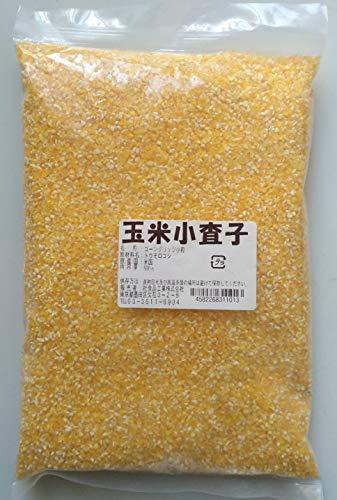 横浜中華街 玉米査子 小粒 (コーン粗挽き、小粒) 500g 中華食材♪品番:1500101