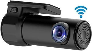 HaoYiShang Cámara mini HD WiFi grabadora de video del coche DVR Dash Cam HD 1080P 170 grados de ancho con visión nocturna G-Sensor  Monitor de APP para IOS Android Phone