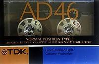 """TDK カセットテープ """" AD """" 46分 ノーマル/TYPEⅠ"""