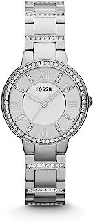 فوسل ساعة رسمية للنساء انالوج بعقارب ستانلس ستيل - ES3282