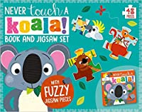 Never Touch a Koala Book and Touch and Feel Jigsaw Boxset