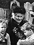 Posterazzi GLP469052LARGE Poster Print Collection Maria Montessori /N(1870-1952). Italian Educator And Physician Poster Print By, (24 X 36'), Multicolored