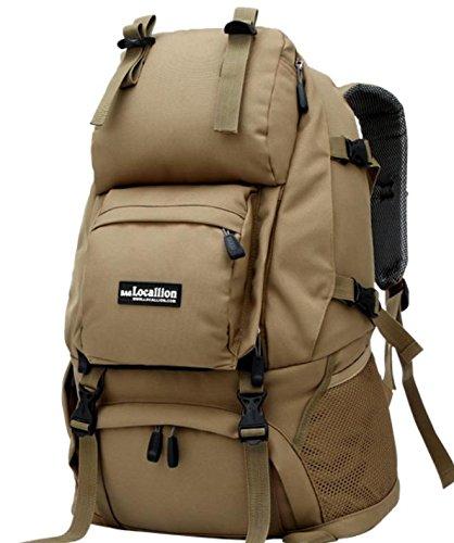 Sac à dos sac à dos sac à dos d'escalade de voyage escalade sacs voyages plein air hommes et femmes , khaki
