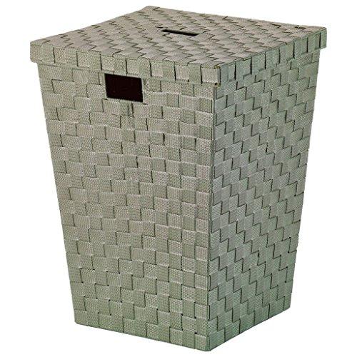 kela Wäschebox Alvaro Taupe PP-Faserband, Polypropylen, 40 x 40 x 52 cm