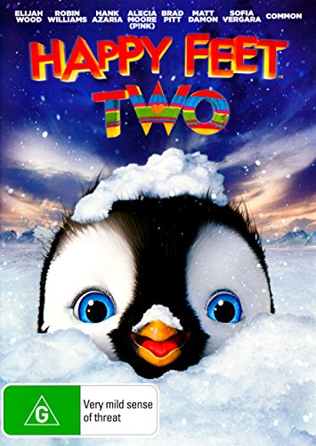 BRAD PITT - HAPPY FEET TWO (1 DVD)