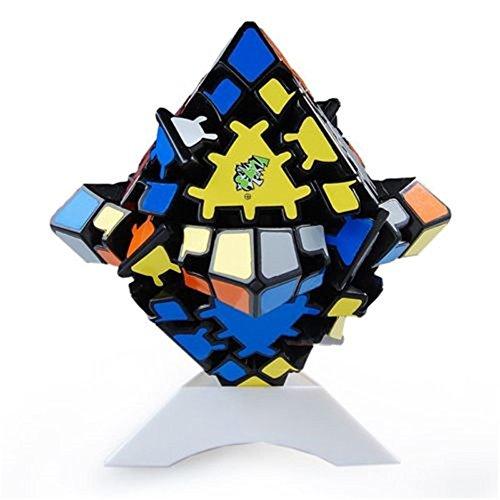 HJXDtech - LanLan Gear Irregular de Velocidad Cubo mágico Cubos de la torcedura Sticker (Octaédrico)