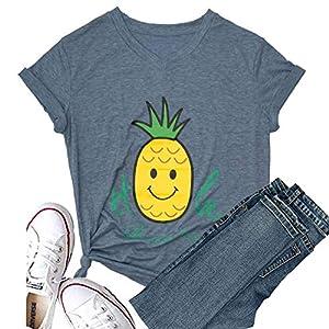 Women's  Cute T Shirt Casual Blouse Tops Tees