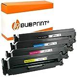 4 Bubprint Cartucce Toner compatibili per HP 410X CF410X CF411X CF412X CF413X per Color LaserJet Pro M452 M452DN M452DW M452NW MFP M377DW M477 M477FDN M477FDW M477FNW