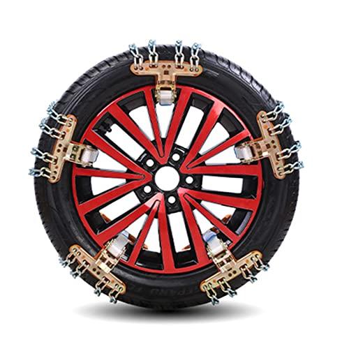 CYJ Schneeketten,8 Stück Reifen Ketten...